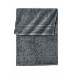 Ręczniki z ciężkiego materiału bonprix antracytowy