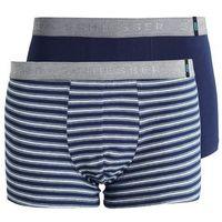 Schiesser 2 PACK Panty dark blue, kolor niebieski