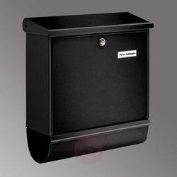 Burgwächter Skrzynka na listy comfort-set ze schowkiem czarna (4003482326503)