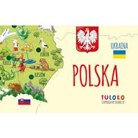 Mapa polski - naklejka naścienna marki Tuloko