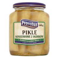 Pikle konserwowe z ogórków 640 g  marki Provitus