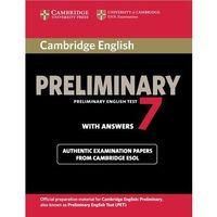 Cambridge English Preliminary (PET) 7 Podręcznik z Odpowiedziami