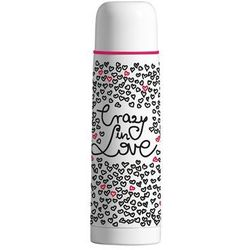 """Termos AMBITION Love """"Crazy in love"""" 500ml, biały"""
