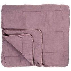 Ib Laursen - Podwójna narzuta na łóżko w kolorze malwy