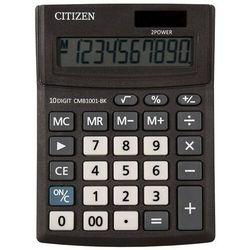 Kalkulator biurowy cmb1001-bk business line, 10-cyfrowy, 137x102mm, czarny marki Citizen