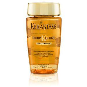 elixir ultime oleo complex bain | kąpiel do każdego rodzaju włosów - 250ml marki Kerastase