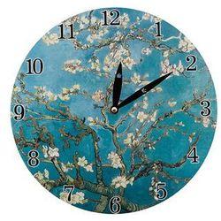 Zegar wiszący na ścianę do powieszenia malarstwo marki Queen isabell