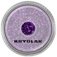 Kryolan  polyester glimmer medium (purple) średniej grubości sypki brokat - purple (2901)