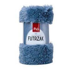 Florentyna Koc / narzuta dwustronny futrzak 016 niebieski 155x210