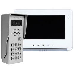 Zestaw wideodomofonu natynkowego z szyfratorem s50d m690ws2 marki Vidos