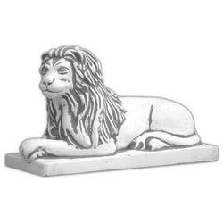 Figura ogrodowa betonowa lew 36cm