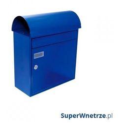 Skrzynka na listy atlanta niebieska marki Max knobloch