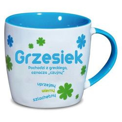 Nekupto, Grzesiek, kubek ceramiczny imienny, 330 ml