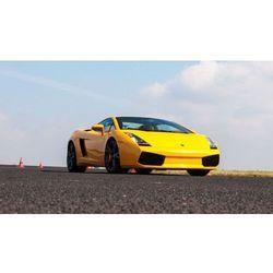 Jazda Lamborghini Gallardo i Porsche Turbo - Poznań - kierowca - III wariant