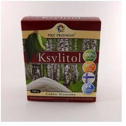 Ksylitol (Finlandia) 500 g Pięć Przemian z kategorii Cukier i słodziki