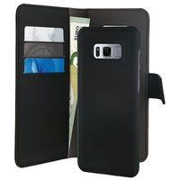 Etui PURO Wallet Detachable 2w1 do Samsung Galaxy S8 Plus Czarny, kolor czarny