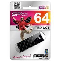 Silicon Power Ultima U03 8GB USB 2.0 (czarny)