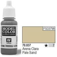 Vallejo Farba Nr7 Sand Light Matt 17ml - produkt z kategorii- Farby modelarskie