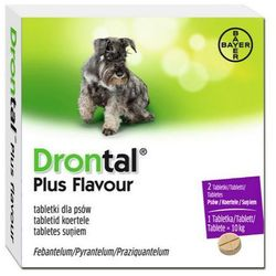 BAYER Drontal Plus Flavour tabletki na odrobaczenie dla psów, kup u jednego z partnerów