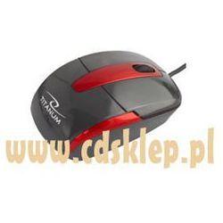 Mysz optyczna Titanum mini Barracuda USB 1000DPI TM108