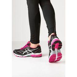 ASICS GELPULSE 8 Obuwie do biegania treningowe black/silver/sport pink (buty do biegania)