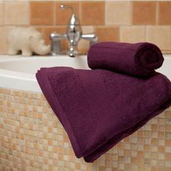 Dekoria  ręcznik evora fioletowy, 70x140 cm