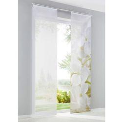 """Zasłony panelowe """"Orchidee"""" (2 szt.) bonprix biały"""