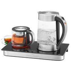 Zestaw do parzenia kawy i herbaty PROFI COOK PC-TKS 1056 / czajnik / szklany dzbanek (4006160105698)