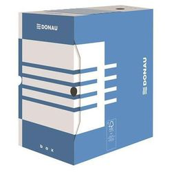 Pudło archiwizacyjne DONAU, karton, A4/200mm, niebieskie (5901498110590)
