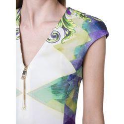 sukienka wielokolorowy xs od producenta Versace