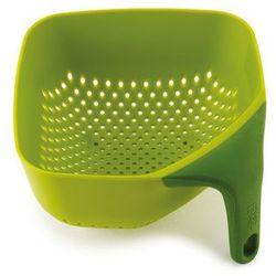 Joseph Joseph - Durszlak kwadratowy mały - zielony PLUS - produkt z kategorii- Durszlaki, cedzaki i sitka