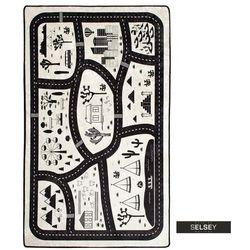 dywan do pokoju dziecięcego dinkley miasto 140x190 cm marki Selsey