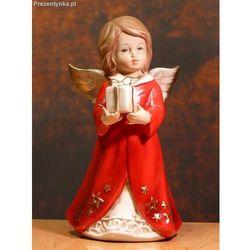 Aniołek Ceramiczny z prezentem - produkt z kategorii- Upominki