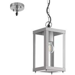 Wisząca lampa zewnętrzna alamonte 94786  ogrodowa oprawa zwis klatka na łańcuchu outdoor ip44 stal nierdzewna marki Eglo