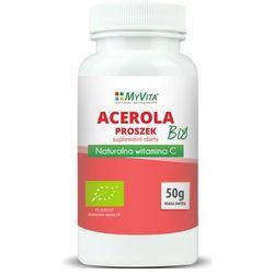 Acerola sproszkowany sok BIO 50g (Myvita) - sprawdź w wybranym sklepie