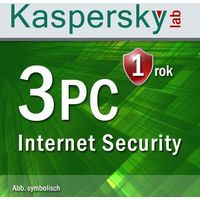 Kaspersky Lab Internet Security 2017 3 PC Win