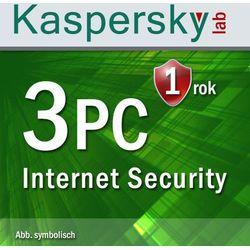 Kaspersky Lab Internet Security 2017 3 PC Win z kategorii Programy antywirusowe, zabezpieczenia