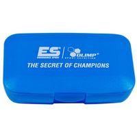 Pojemnik na kapsułki The secret of champions niebieski Olimp (5907677702662)