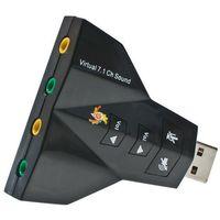 SUPER KARTA DŹWIĘKOWA AUDIO 3D USB 7.1CH