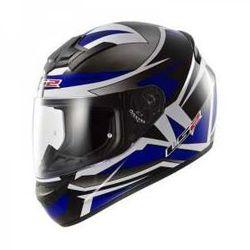 KASK MOTOCYKLOWY LS2 FF352 ROOKIE Gamma Black BLUE - produkt dostępny w LS2.sklep