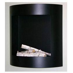 Kratki Biokominek czarny duży pojemnik prostokątny