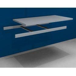 Dodatkowa półka w komplecie z trawersami i półką stalową, szer. 1500 mm, gł. 800 marki Julius vom hofe