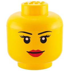 Room copenhagen Pojemnik lego główka dziewczynka s - lego pojemniki