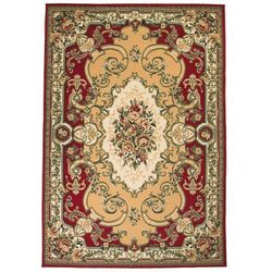 Vidaxl Orientalny dywan, perski wzór, 160 x 230 cm, czerwono-beżowy