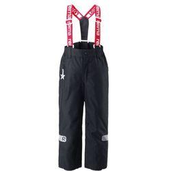 Spodnie zimowe Reima KIDDO LIGHTNING czarne, kup u jednego z partnerów