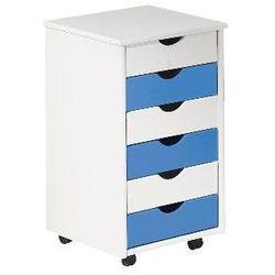 Kontenerek do biurka delis - niebieski marki Producent: elior
