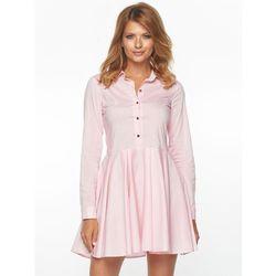 Sukienka Dolly w kolorze różowym marki sugarfree.pl