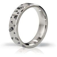 - pierścień erekcyjny - his ringness duke polerowany i grawerowany 55mm marki Mystim