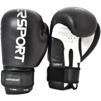 Rękawice bokserskie AXER SPORT A1317 Czarno-Biały (8 oz) (5901780913175)