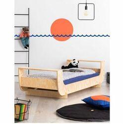 Drewniane łóżko dziecięce ze stelażem - Mailo 10X